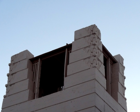 Oasis Hotel Tower, Palm Springs, Frank Lloyd Wright, Jr, 1923