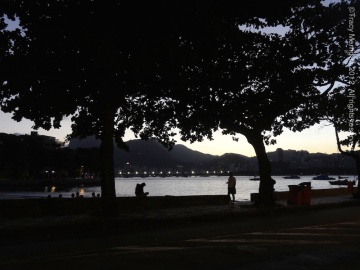 tracy merrigan, palm springs, real estate, rio de janeiro, urca, sunset, boat, corcovado, world cup, olympics